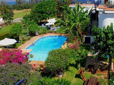 Appartementen Bay view - tuin