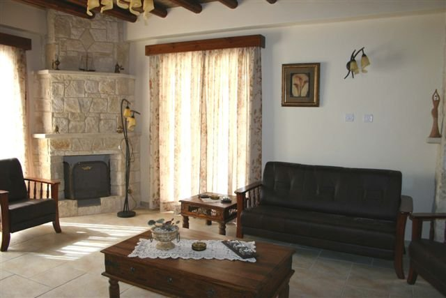 Villa Santa Barbara - woonkamer