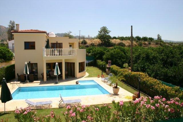 Villa Tsikos - tuin