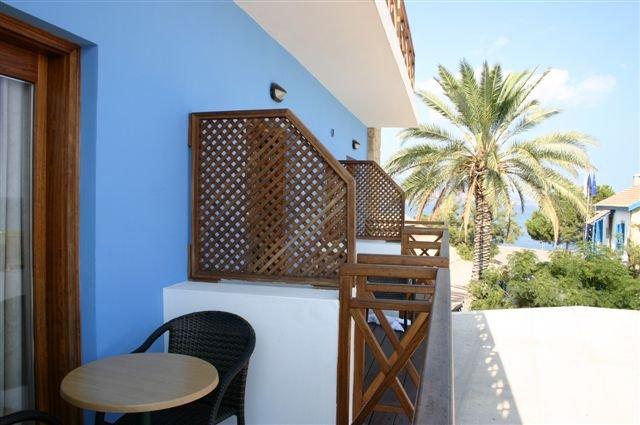 Hotel Y en P - balkon