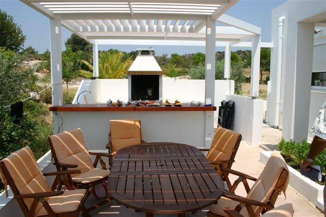 Villa Chevalier - terras en barbecue