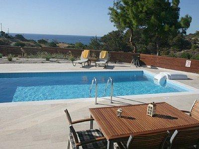 Villa Gonos - zwembad
