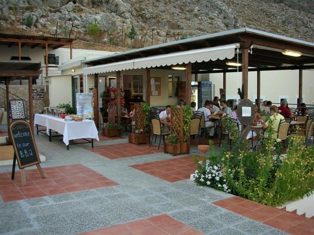 Appartementen Lindos Horizon - buiten restaurant
