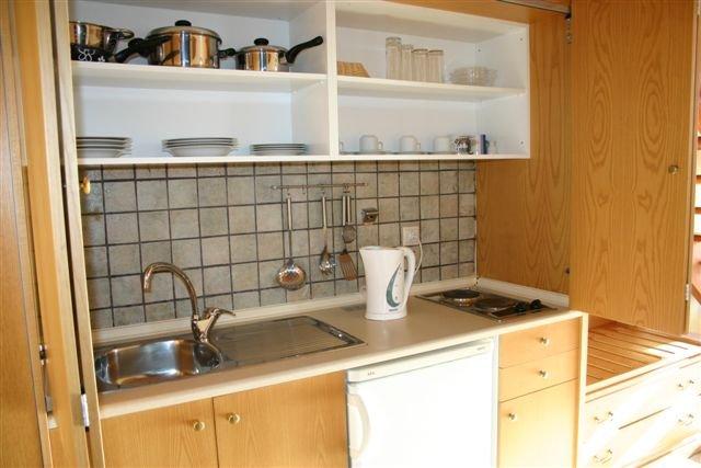 Appartementen Lindos Horizon - keuken