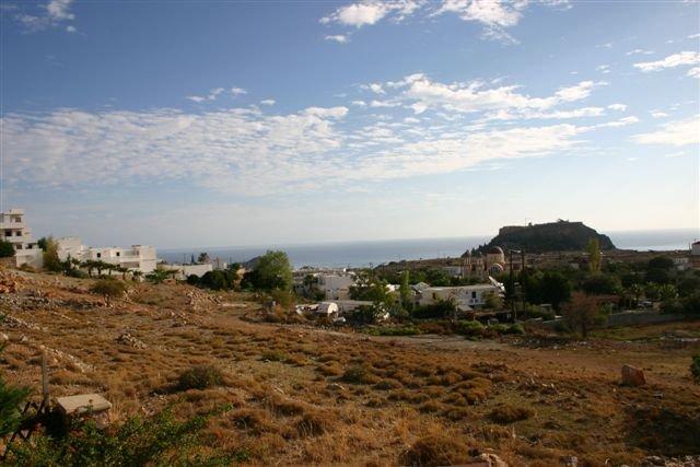 Appartementen Lindos Horizon - uitzicht