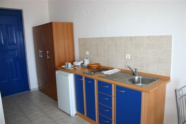 Appartementen Lindian Myth - keuken