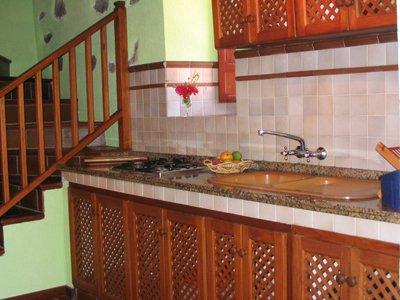 Appartementen Los Delfines - keuken