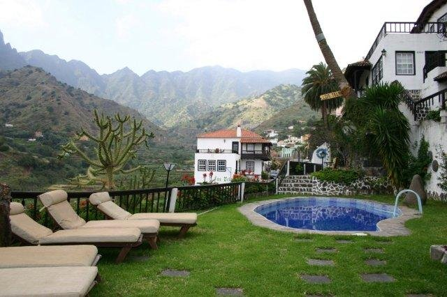 Appartementen Los Telares - tuin