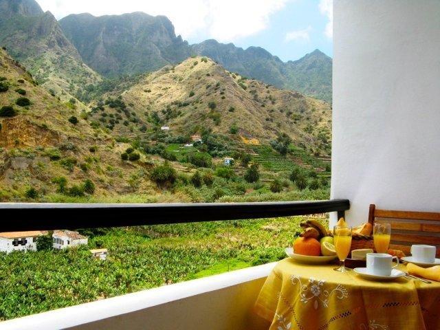 Appartementen Los Telares - uitzicht vanaf het balkon