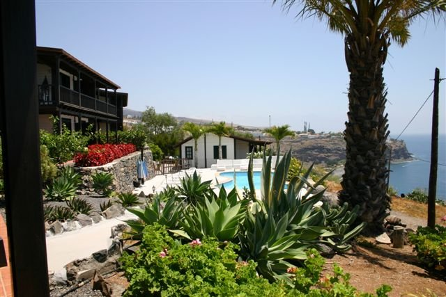 Appartementen Santa Ana - tuin