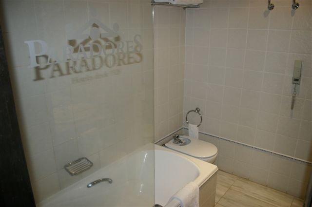 Hotel Parador - badkamer