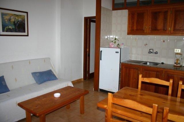 Appartementen Borbolan  -  keuken/ woonkamer