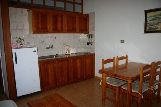 Appartementen Borbolan  -  keuken