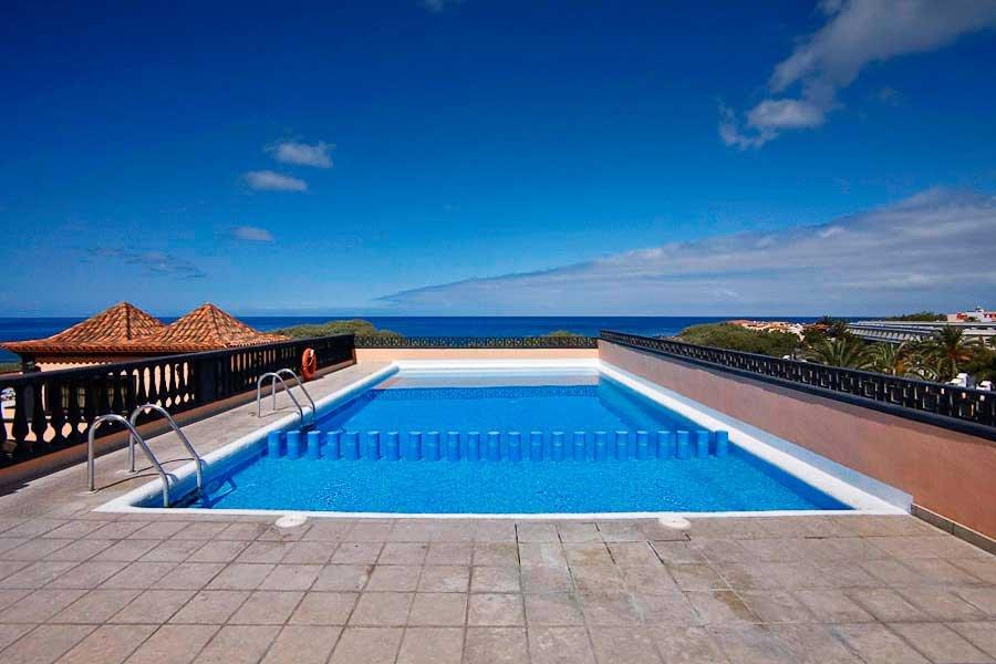 Appartementen El Conde - zwembad