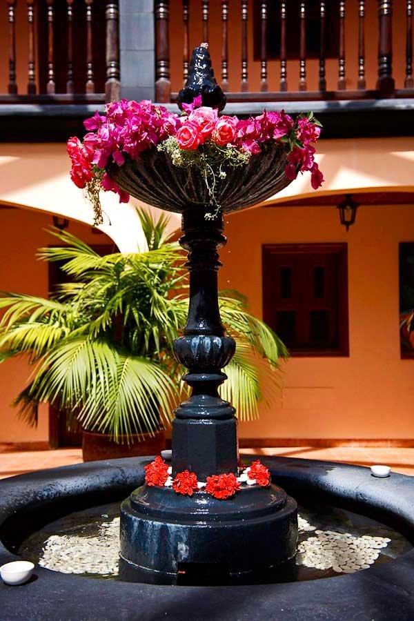Appartementen El Conde - fontein