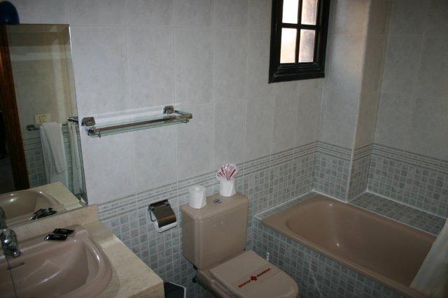 Appartementen El Conde - badkamer