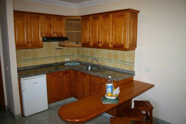 Appartementen El Conde - keuken