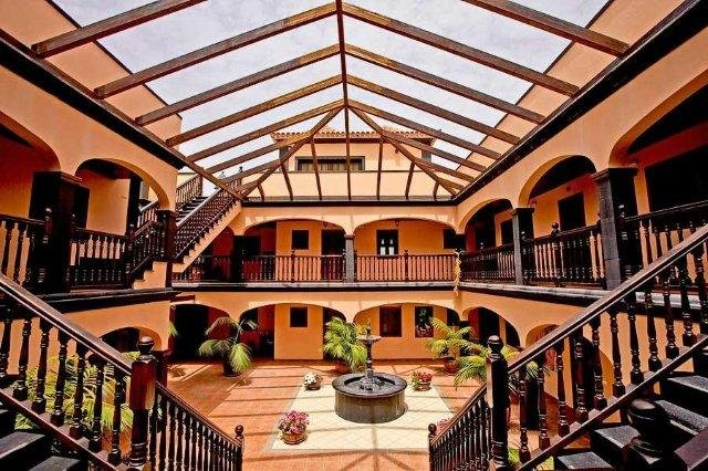 Appartementen El Conde - binnenplaats