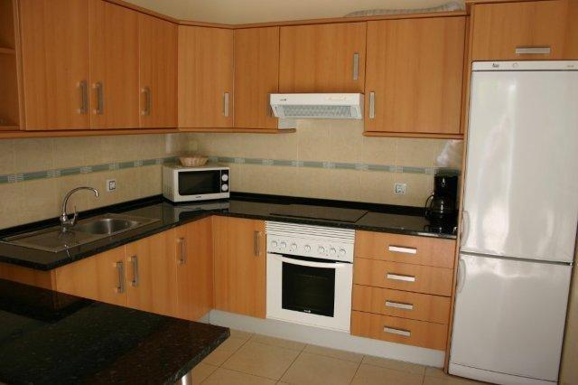 Appartementen El Llano - keuken