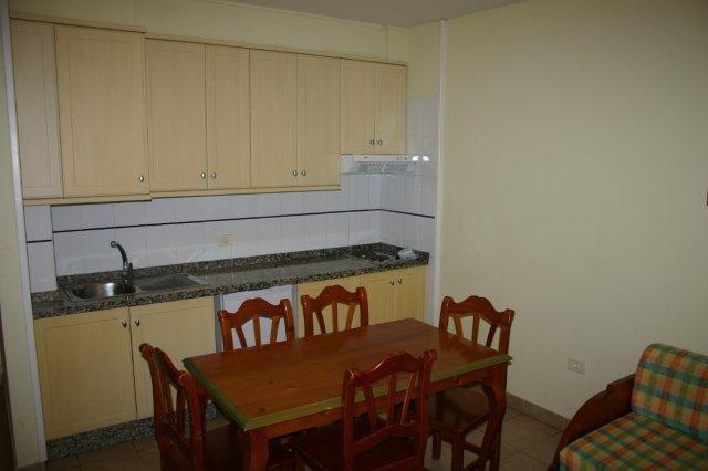 Appartementen Las Mozas - keuken