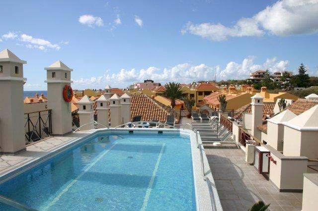 Appartementen Las Mozas - zwembad