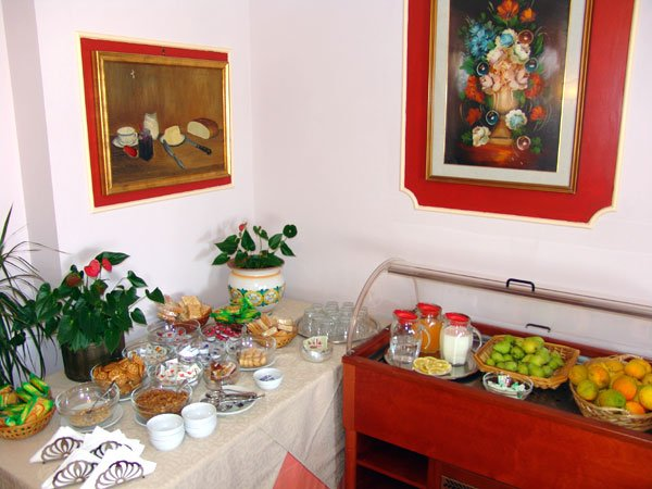 Hotel Andromaco - ontbijtbuffet