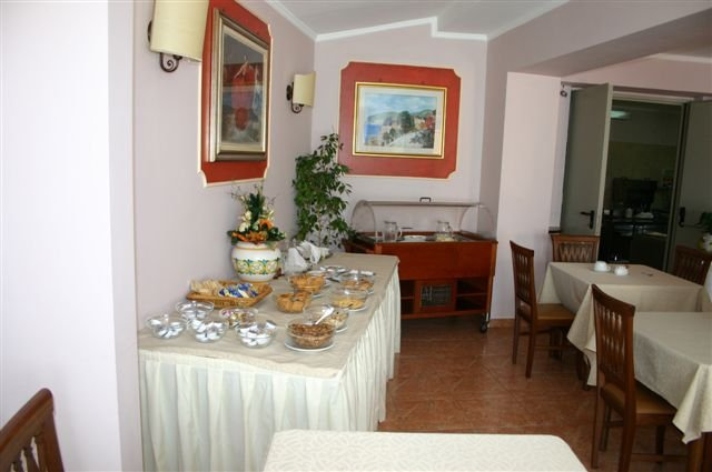 Hotel Andromaco - ontbijtzaal