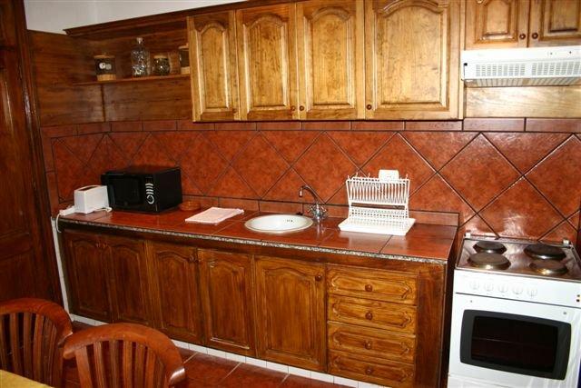 Appartementen Casas de Piedra - keuken