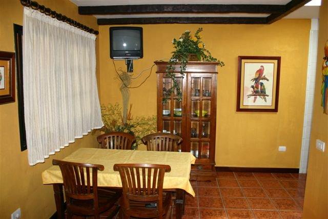 Appartementen Casas de Piedra - eetgedeelte