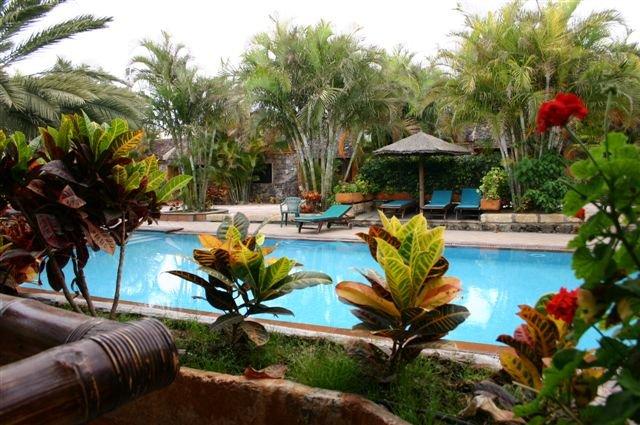 Appartementen Casas de Piedra - zwembad