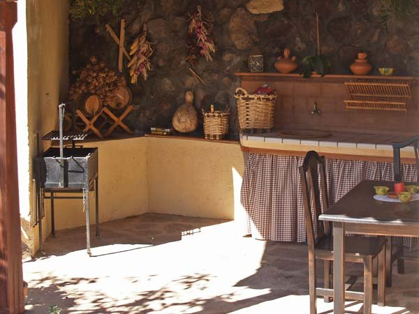 Casita Acoroma - barbecueplaats
