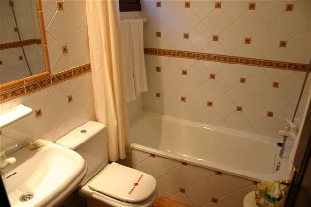 Hotel Finca Salamanca - badkamer