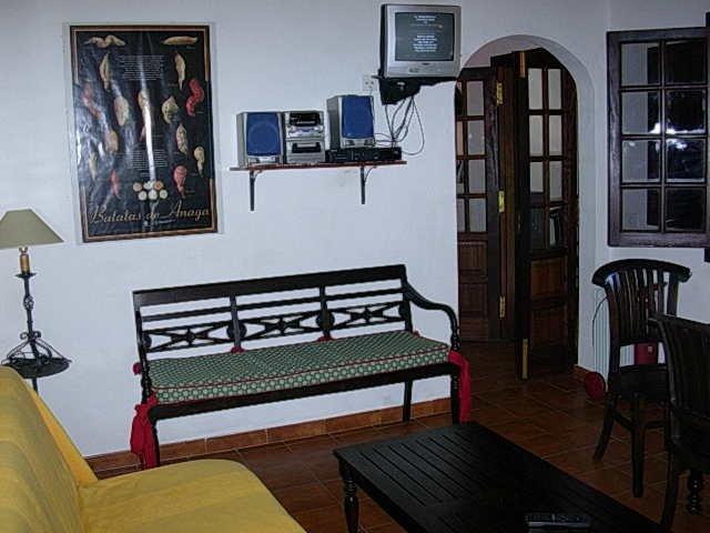 Casita Dos Barrancos -woonkamer