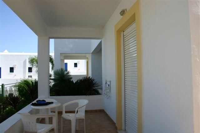 Appartementen Lambis - balkon