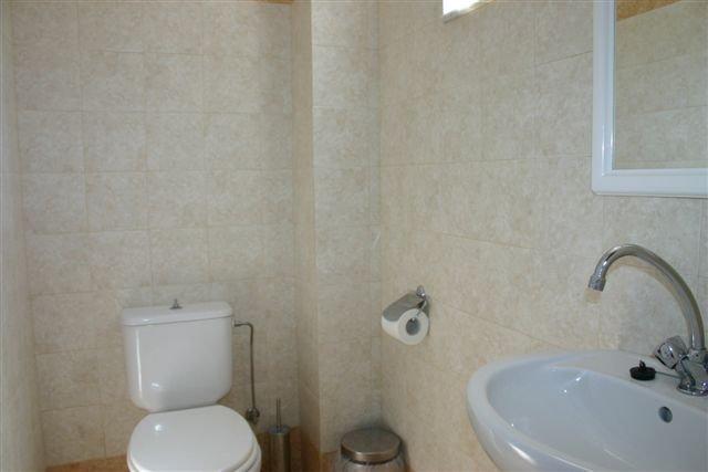 Appartementen Lambis - badkamer