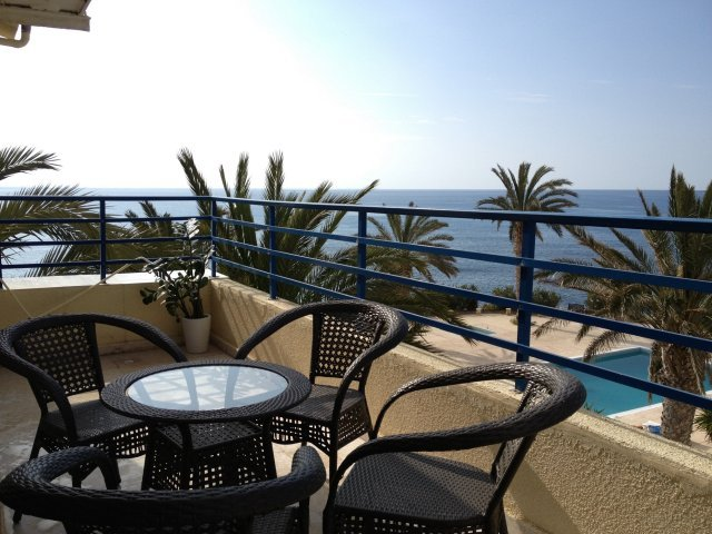 Appartementen Vrachia - balkon