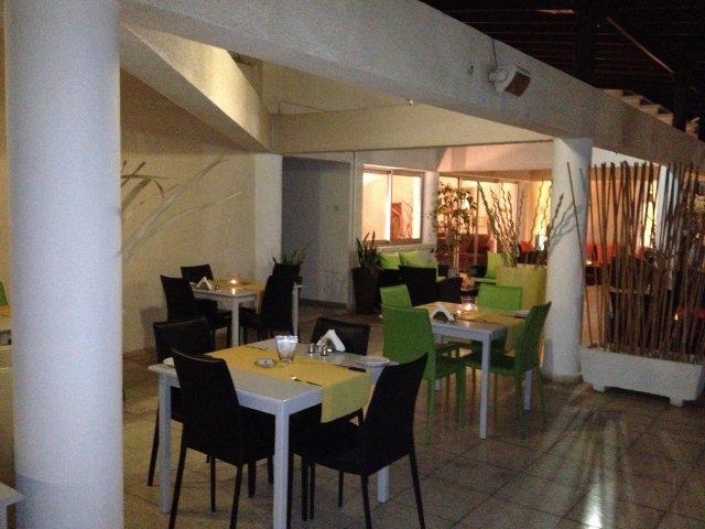 Appartementen Vrachia - eetzaal