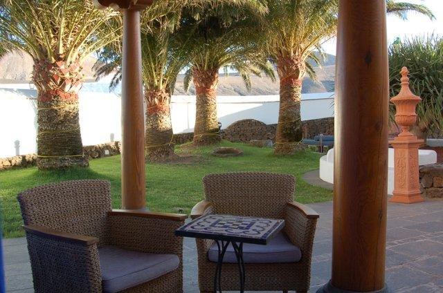 Hotel Casona de Yaiza - tuin