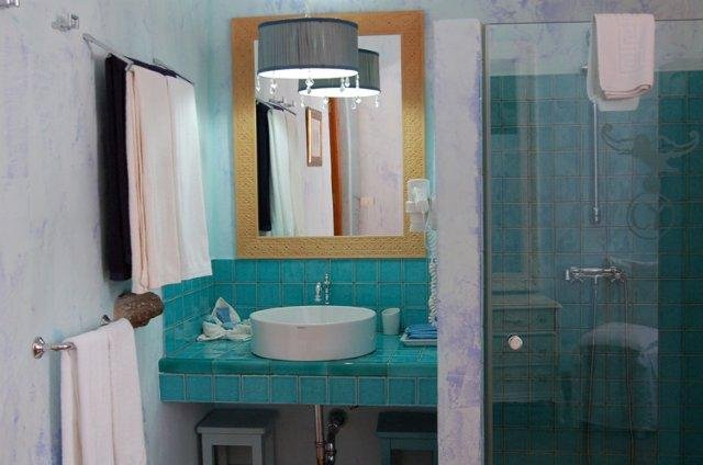 Hotel Casona de Yaiza - badkamer