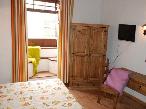Hotel Rural Bentor - inpandig balkon
