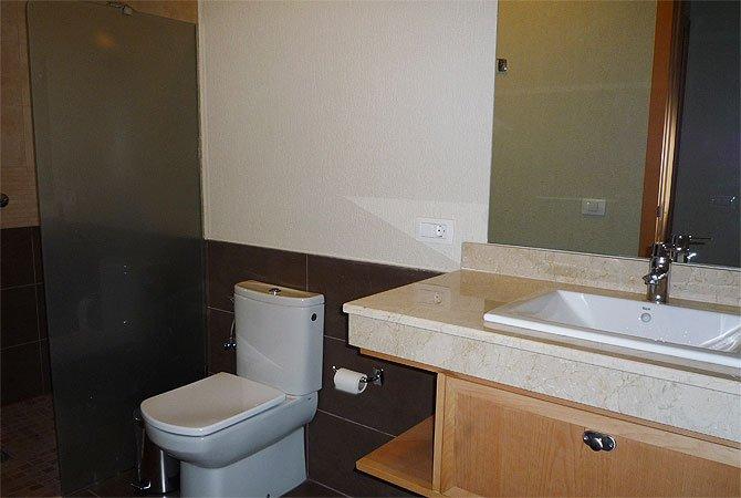 Appartementen San Diego - badkamer