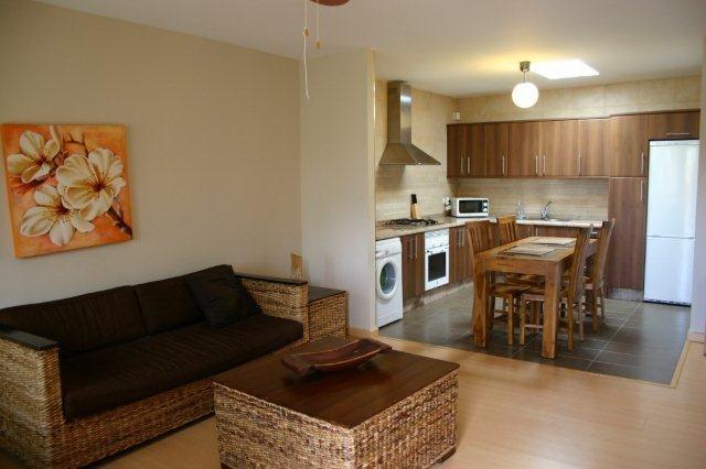 Appartementen San Diego - woonkamer en keuken
