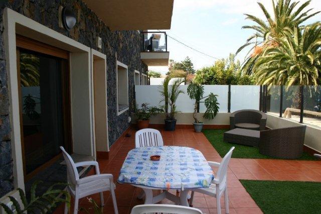 Appartementen San Diego - terras