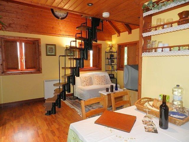 Casita Las Breveritas - woonkamer in Almendro