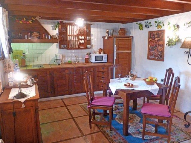 Casita Las Breveritas - keuken in La Bodega