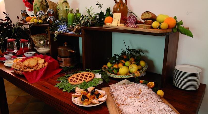 Hotel Case di Latomie - ontbijtbuffet