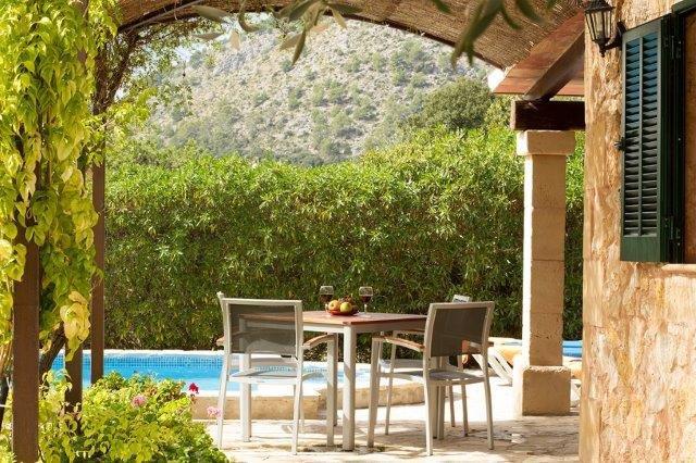 Villa Can Just - tuinsetje