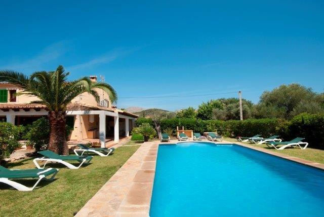 Villa El Pontarro - zwembad+villa