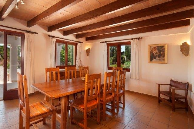 villa El Pontarro - eettafel