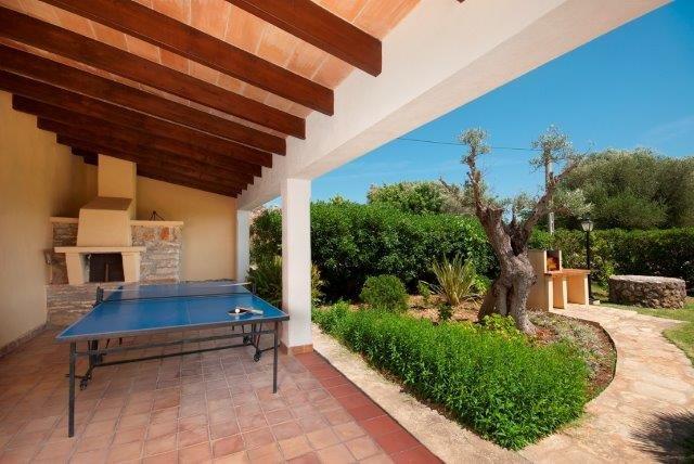 Villa El Pontarro - steenoven/terras